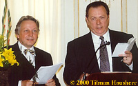 Rev. Thomas Gandow & Robert Minton 2000.  Photo � 2000 Tilman Hausherr