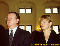 Robert Minton & Stacy Brooks 2000.  Photo � 2000 Tilman Hausherr